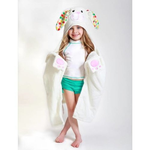 Zoocchini Kids badcape - Bella the Bunnie