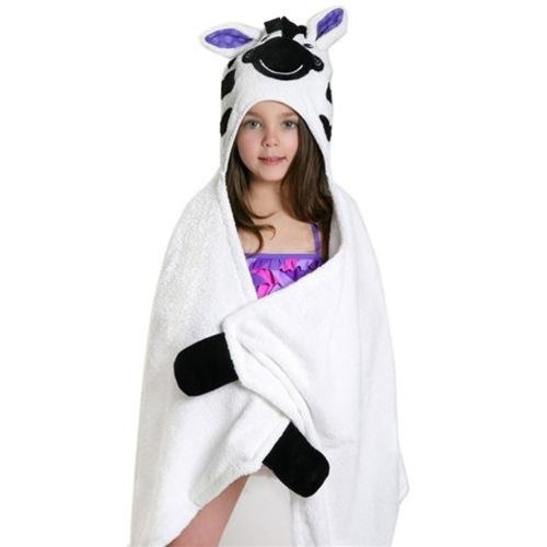 Zoocchini Kids badcape - Ziggy the Zebra
