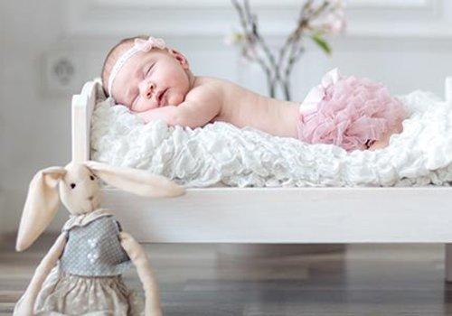 Slapen - baby in bed