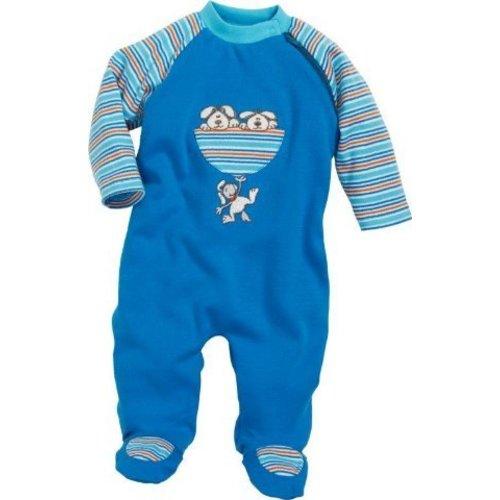 Schnizler (Playshoes) babypakje / slaappakje katoen met voetjes