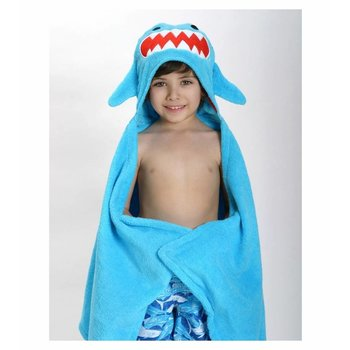Zoocchini Kids badcape - Sherman the Shark