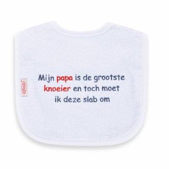 Funnies Tekstslabber Papa is de grootste Knoeier