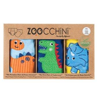Zoocchini 3 trainingsbroekjes - Jurassic Pals - Bio katoen