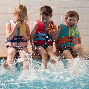 Childwood Childwood Neoprene Zwemvest Aqua Blue - 3-6 jaar