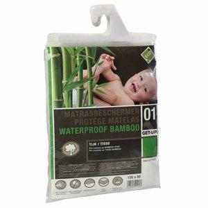 ABZ Waterdicht, absorberend hoeslaken Bamboe ledikant