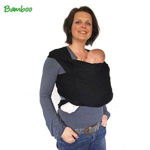 Smallvips VipCarrier bamboe-tricot draagdoek Zwart