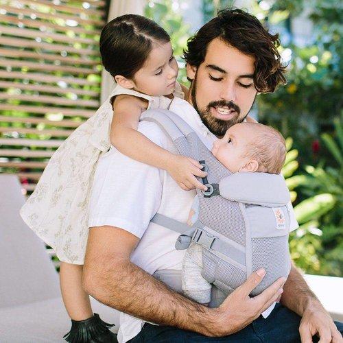Ergobaby Babydraagzak Adapt - Cool Air Mesh - Pearl Grey