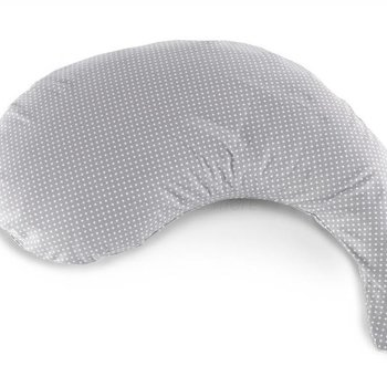 Theraline Hoes voor The Yinnie Pillow - voedingskussen - Dots Grey