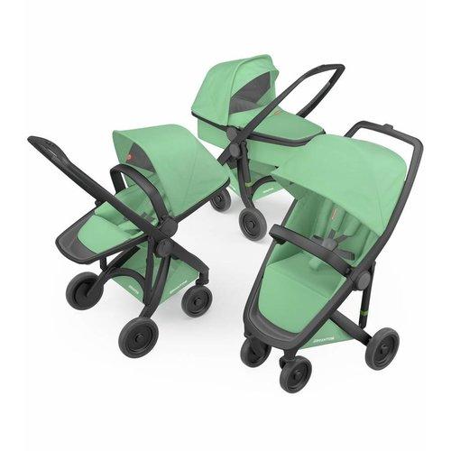 Greentom Combination 3-in-1 Reversible - Zwart/Mint
