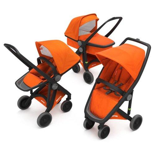 Greentom Combination 3-in-1 Reversible - Zwart/Oranje