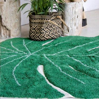 Lorena Canals Monstera Leaf vloerkleed - 120 x 180 cm