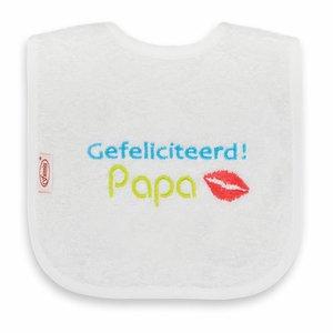 Funnies Tekstslabber - Gefeliciteerd Papa!