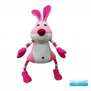 Wiebeldier Jumper Roze Konijn
