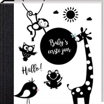 Ikkemikke Baby's eerste jaar - Hello Baby Black&White