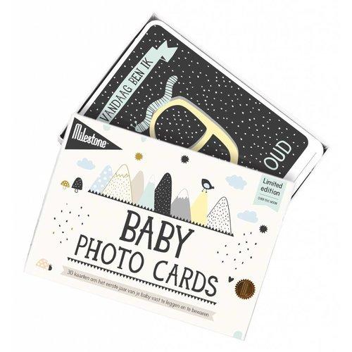 Milestone Babycards Mijlpaal-kaartjes - Baby foto kaartjes 'Over the Moon'