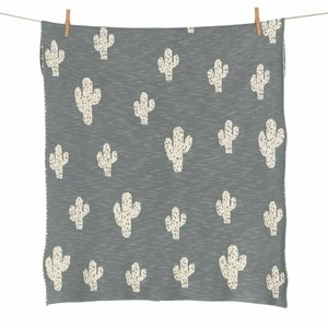 Quax Tricot - Dekentje - Wieg - On the go -Cactus