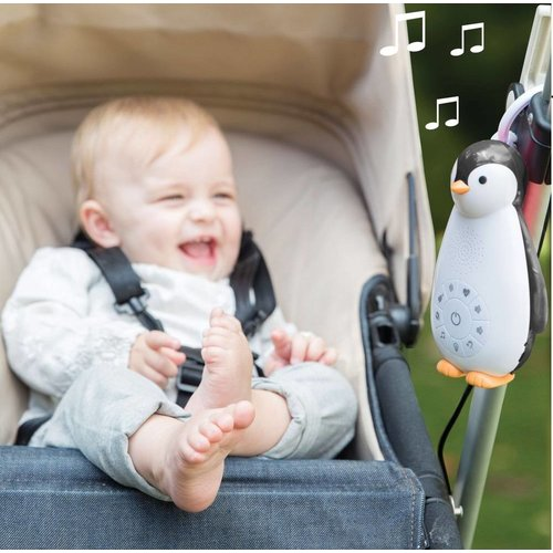 Zazu Zoë Soundbox Pinguin met Bluetooth