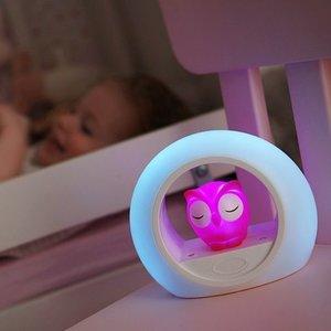 Zazu 3-fasen nachtlampje LOU uiltje roze
