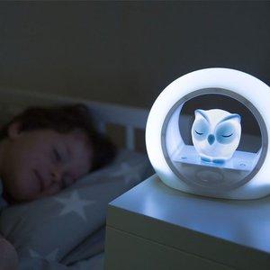 Zazu 3-fasen nachtlampje LOU uiltje blauw