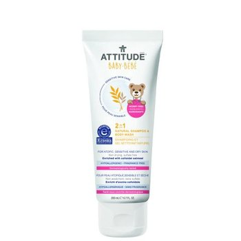 Attitude Sensitive Skin Shampoo & bodywash