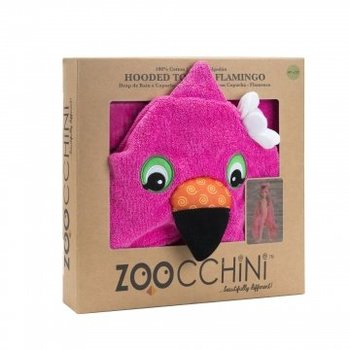 Zoocchini Kids badcape - Franny the Flamingo