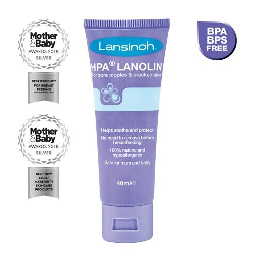 Lansinoh Verzorgingscrème 100% Lanoline Lansinoh 40 ml