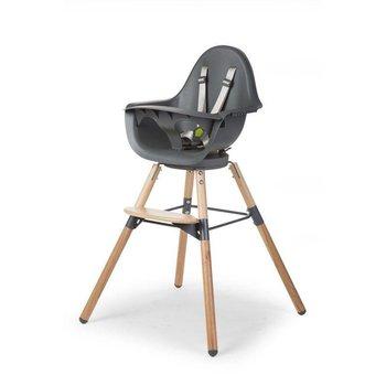 Childwood High chair kinderstoel Evolu ONE.80° Naturel-Antraciet