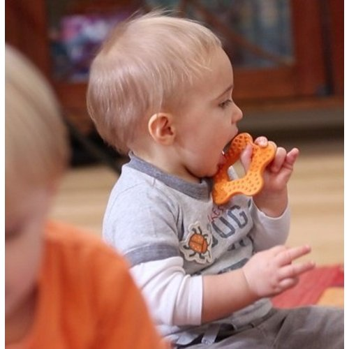 BioSerie Bioplastic Bijtring Oranje