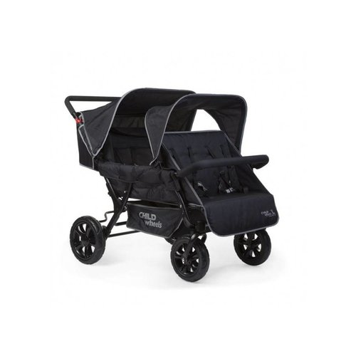 Childwheels Two By Two  vierlingwagen - meerling kinderwagen