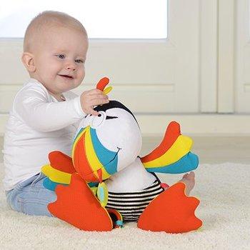 Dolce Activiteiten knuffel - Puffin de papegaai