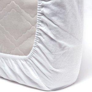 ISI Mini Flanellen Molton Matrashoes 60x120 cm - Wit hoeslaken