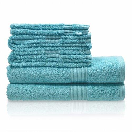Handdoeken set - zware kwaliteit - Lente blauw