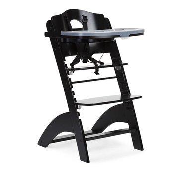 Childwood Meegroeistoel Lambda 2 Chair met eetblad Zwart