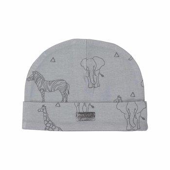 Jollein Bio katoen Mutsje Safari Grey