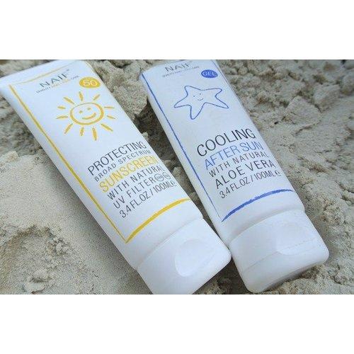 NAÏF Cooling After Sun met Aloe Vera