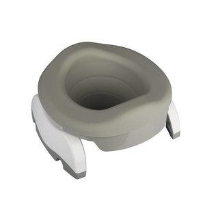 Potette Plus Rubberen toiletinzet voor je opvouwbare potje - Grijs