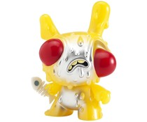"8"" Meltdown Dunny (Yellow) by Chris Ryniak"