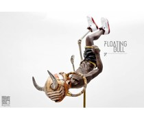"12"" Floating Bull by Fools Paradise"
