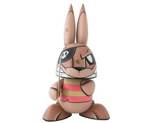 "10"" Pirate Bunny by Joe Ledbetter"