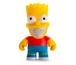 """3"""" Bart Grin (The Simpsons) by Ron English"""