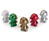Micro Munny - DIY Ornaments 2015
