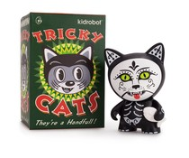 Tricky Cats mini Series by Kidrobot (1x Blindbox)