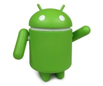 """10"""" MEGA Android Vinyl Figure (Green) by Andrew Bell"""