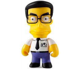 Frank Grimes 1/40 - Simpsons 25th Anniversary Mini Series