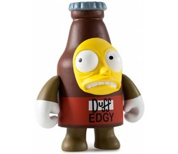 Edgy Duff 3/80 - Simpsons 25th Anniversary Mini Series