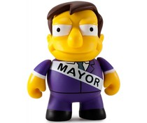 Mayor Quimby 1/40 - Simpsons 25th Anniversary Mini Series