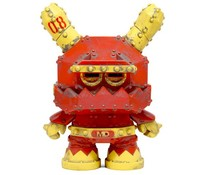 "8"" Mecha Dunny (Stealth) by Frank Kozik"