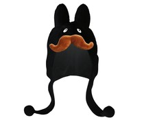 Labbit Hat (Black) by Frank Kozik x Kidrobot