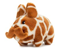 "7"" 'Stache Labbit Plush (Giraffe) by Frank Kozik"