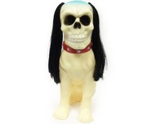 "9"" Skull Jinmenken (Ivory) by Awesome Toy"